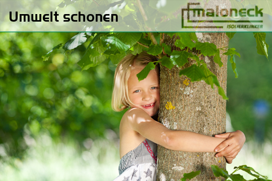 Umwelt schonen Naturschutz